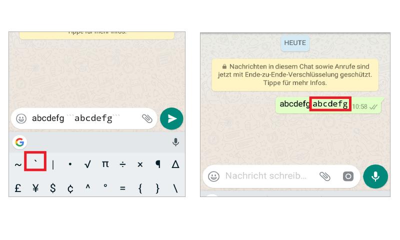 Whatsapp Tipp Andere Schriftart In Einer Nachricht