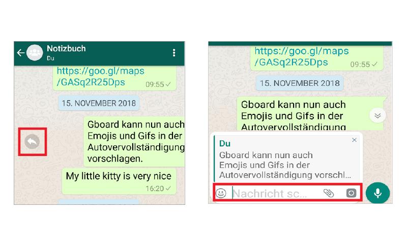 whatsapp auf nachricht antworten