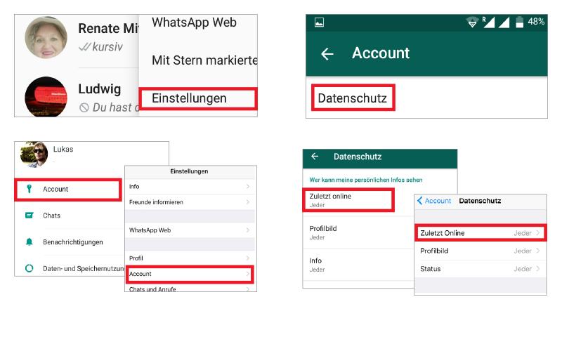 Whatsapp Tipp Den Zuletz Online Status Verbergen