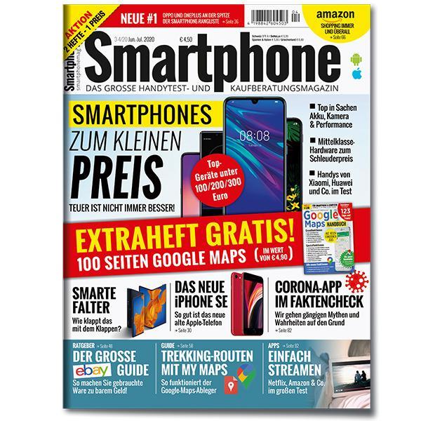 Smartphone Magazin + Sonderheft Google Maps Juni - Juli 2020 (4/20)