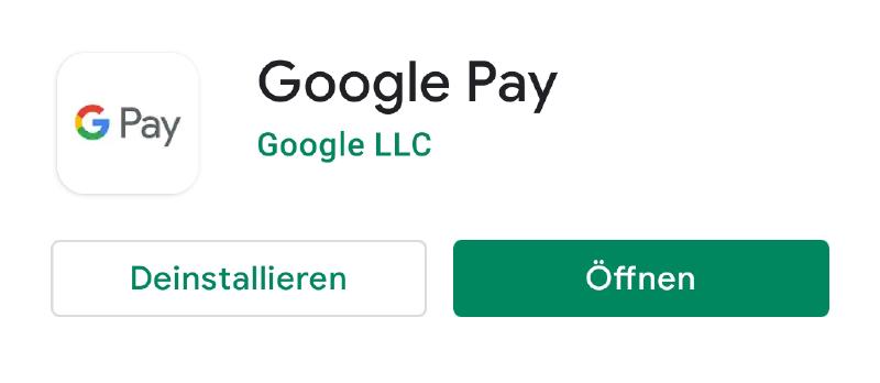 Bezahlen mit Google Pay_App herunterladen