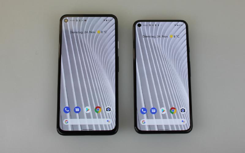 Google Pixel 5 und Google Pixel 4a 5G_Zweieiige Zwillinge