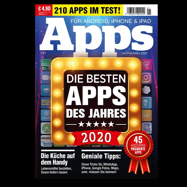 Die besten Apps des Jahres 2020 Cover