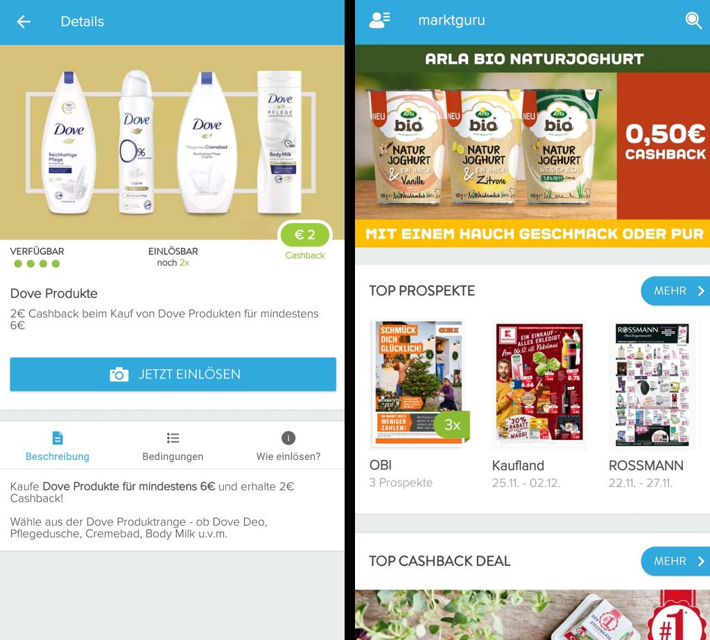 Marktguru_Screenshots